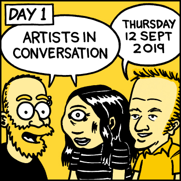 Papercuts Comics Festival - 12 September to 16 September 2019